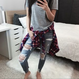 •Urban Outfitters BDG Plaid Flannel•